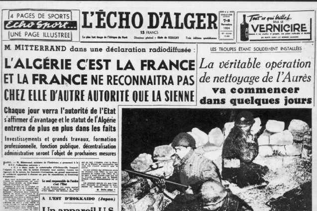 1er novembre 1954 la toussaint rouge les juifs dans la guerre vid o j - Le journal de francois ...