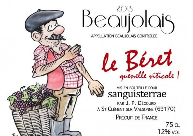 vin_beaujolais_beret_quenelle_alain_soral