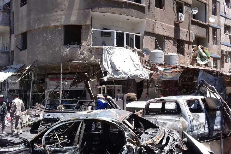 Syrie : au moins 20 morts dans l'explosion de voitures piégées à Damas