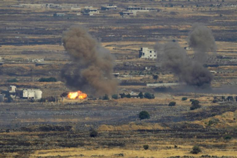 Israël cible une position de l'armée syrienne