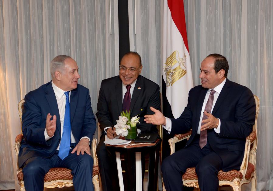 Nethanyahu et al-Sissi se rencontrent à New York — Conflit israélo-palestinien