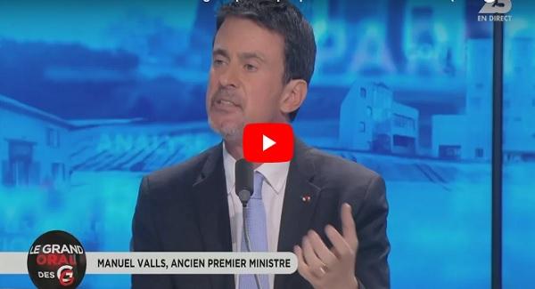 Combat contre l'islamisme radical : Manuel Valls persiste et signe
