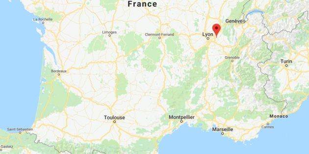La rue Johnny Hallyday a disparu — Charvieu-Chavagneux