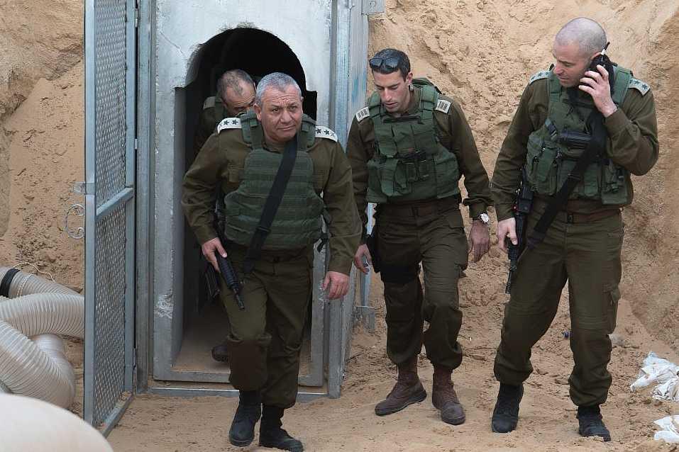 Nouvelle destruction d'un tunnel du Hamas — Israël