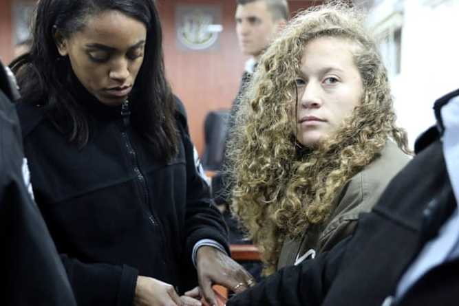 La détention d'Ahed Tamimi prolongée — Palestine occupée