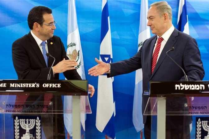 Le Guatemala déménagera son ambassade à Jérusalem en Mai