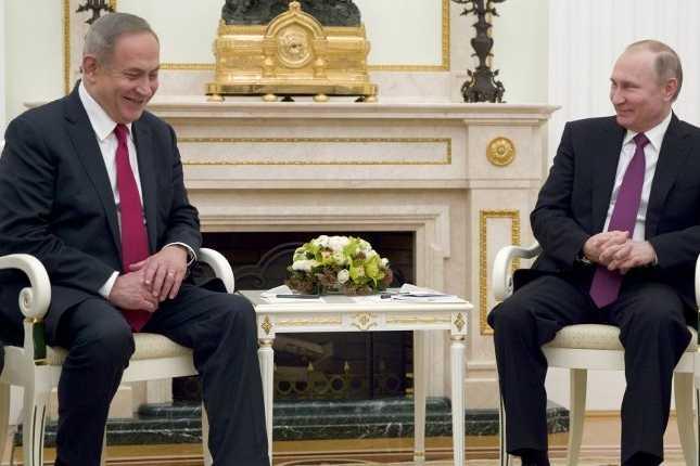 Poutine appelle Netanyahu à