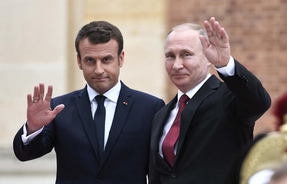 Nucléaire iranien : Macron et Poutine sur la même longeur d'onde