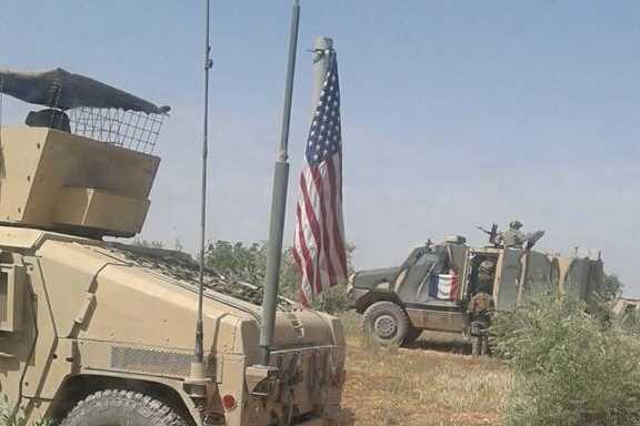 Une base américaine avec des Français près de Manbij — Syrie