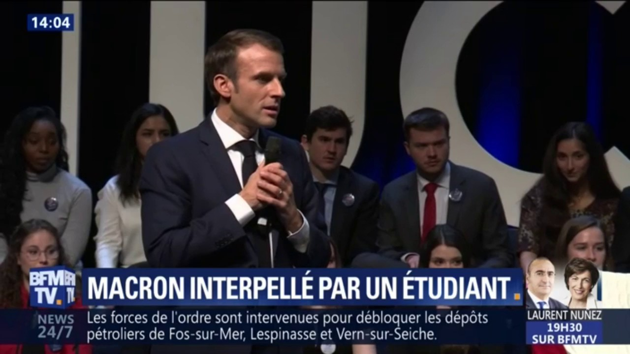 La visite de Macron en Belgique en direct vidéo