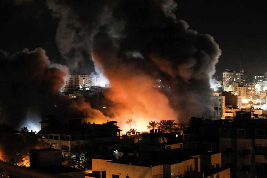 Israël : une roquette tirée depuis Gaza fait 5 blessés