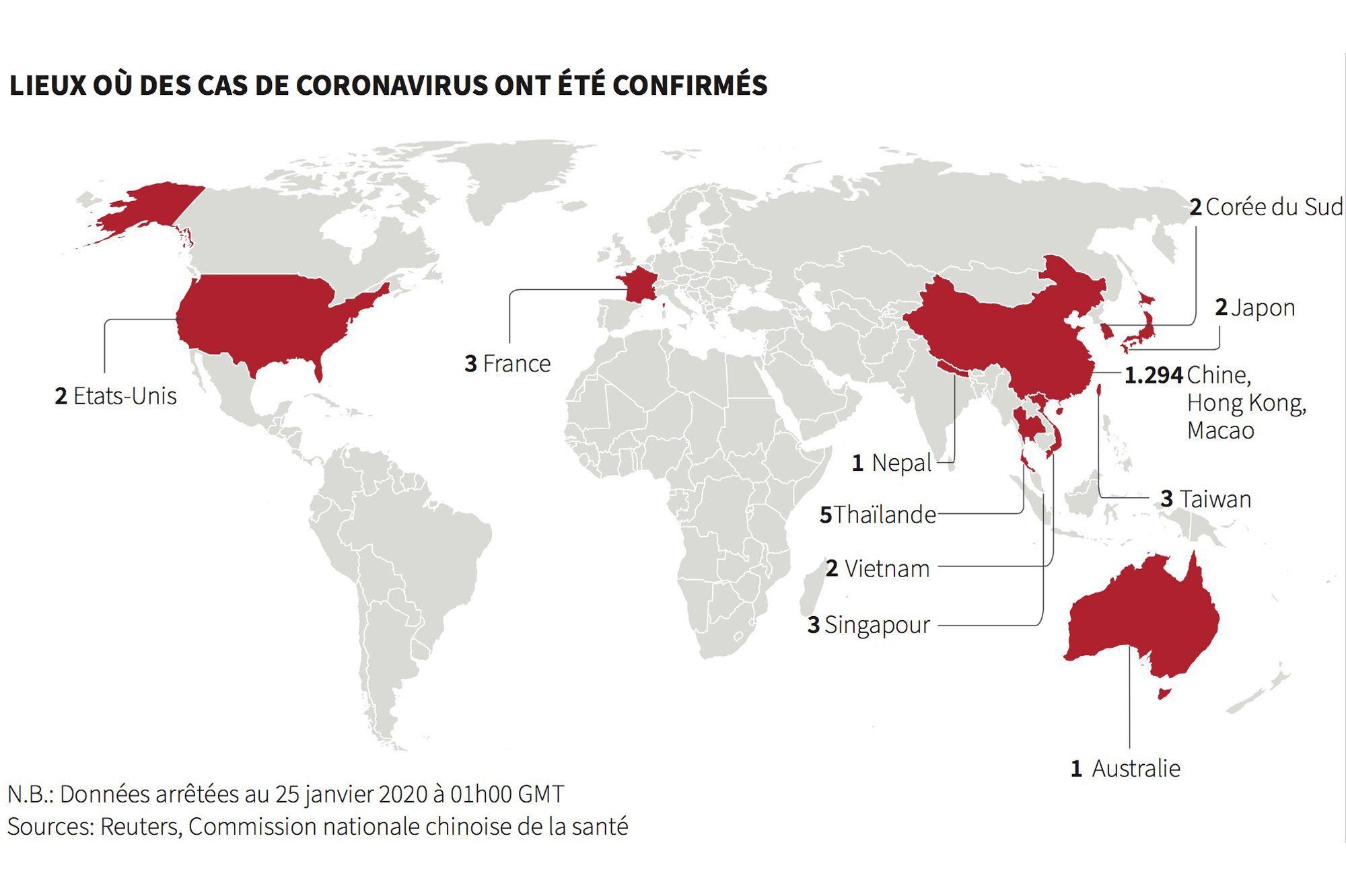 Le dernier cas de coronavirus en Chine révèle une tendance terrifiante
